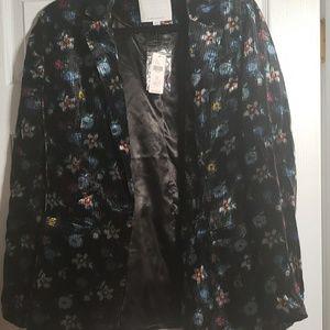 Anthropologie Floral Jacket NWT